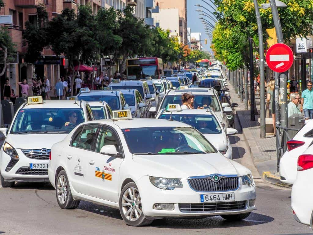 Ibiza Taxis Strike in 2018 1