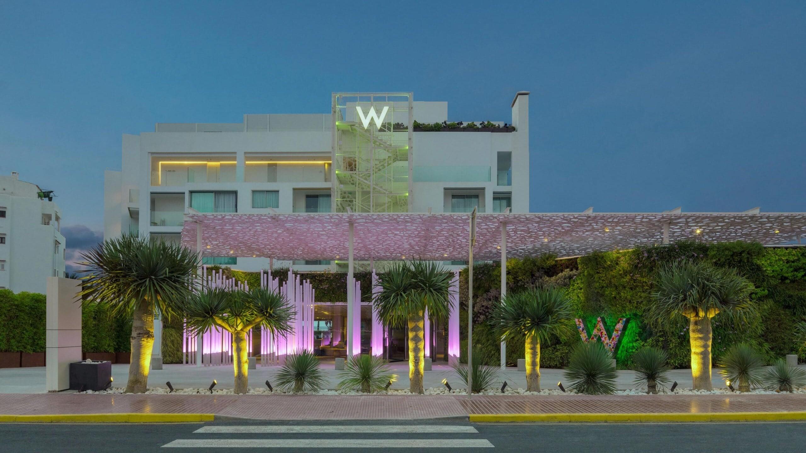 W Ibiza Luxury Hotel