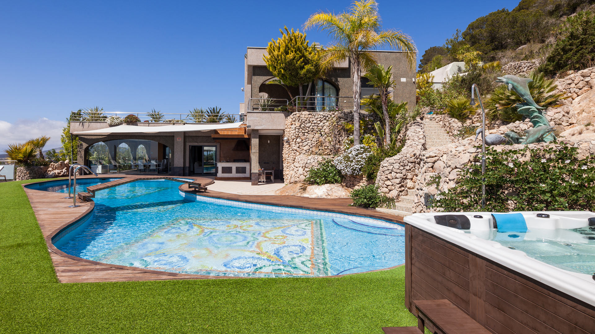 Villa Fountain Luxury Ibiza